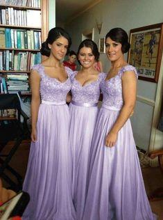 Lavender Bridesmaid Dresses, Bridesmade Dresses, Elegant Bridesmaid Dresses, Unique Prom Dresses, Quince Dresses, Lavender Quinceanera Dresses, Lavender Wedding Colors, Lilac Wedding, Cheap Dresses