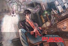 Dylan Dog, I colori della paura: le prossime copertine! - Sergio Bonelli