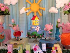 Decoração Provençal Peppa Pig    Os valores variam de acordo com o painel escolhido:    Decorações com valores a partir de R$350,00 + frete    Todo material de apoio e decoração das mesas.    Valor a partir de R$350,00 + frete    Trabalhamos com qualquer temas, seguem alguns:    Galinha Pintadinha  Toy Story  Doki e sua turma ( discovery kids)  Phineas e Ferb  A Princesa e o Sapo (Tiana)  Mickey  Minnie  Ursinho marrom com azul  Ursinho marinheiro  Ursinha marrom com rosa  Patati Patata  ...