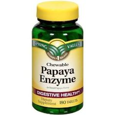 Have you had your Gallbladder removed? Have IBS because of it? The answer-Papaya Enzyme tablets! SERIOUSLY! I had my gallbladder removed 12 yrs ago & ever since, EVERYTHING made me sick shortly after eating. I recently learned that if you chew 3 of these (they taste like candy) before each meal, that it helps you digest your food better thus doing away w/the IBS. I tried it & I AM A BELIEVER! For 12 yrs I've suffered & now I dont have to. My IBS has been reduced by about 95%. Seriously! Try…