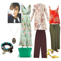 """""""Flamboyant natural"""" by mary-80 on Polyvore"""