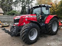 Massey Tractors for sale in uk Massey Tractor, Tractor Pictures, Tractors For Sale, Agriculture, Farming, Green, Heavy Machinery, Weights, Tractor