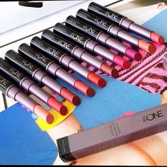 The ONE Colour Unlimited Lipstick by #Oriflame. Longwear and moisturizing…