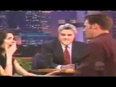 I will so miss Jay Leno. This is the sweetest segment ever: Angie Harmon's Surprise Wedding Proposal