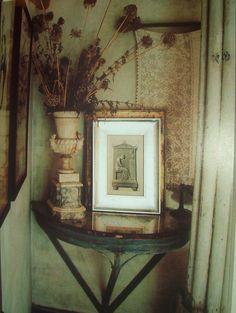 When I think of the Pioneer of Salvage and Garden Style I think of the Genius of Stylist Extraordinaire an. Gaston Bachelard, Willow House, Charleston Homes, Sweet Home, Antique Interior, Vintage Interiors, French Decor, Inspired Homes, Main Colors
