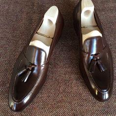 Saint Crispin's 642 - Cordovan tassel loafer