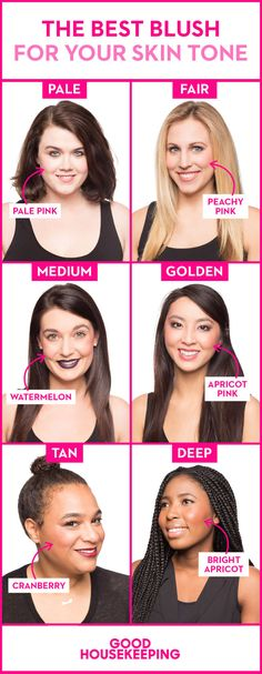 Here's how to choose the best blush for your skin tone for the perfect glow.