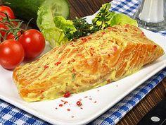 SlimFast.de: Lachssteak mit Senf überbacken