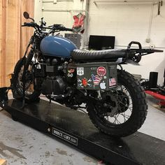Fat .50 kit installed  #california #bonneville #triumph #scrambler #getlost #ammocan #journey #rambler