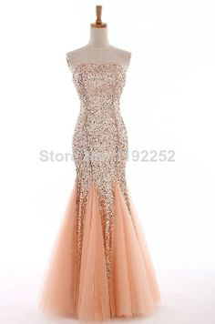 Custom Made Free Shipping Charming Sexy Sweetheart Crepe Prom Dresses 2014 Ankle-Length Mermaid Evening Gowns 2014 New Arrival $143.00