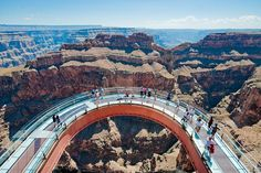 Grand Canyon Skywalk at the West Rim by Maverick Helicopters, via Flickr
