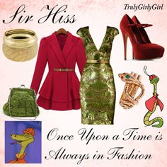 A fashion look from October 2012 featuring red coat, leather shoes and evening handbags. Browse and shop related looks. Disney Princess Fashion, Disney Inspired Fashion, Disney Style, Disney Fashion, Disney Prom, Disney Dress Up, Movie Inspired Outfits, Themed Outfits, Movie Outfits