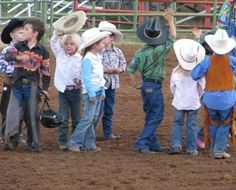 Little cowboys and cowgirls!