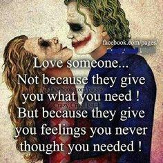 Love someone ....