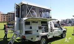 Truck Campers: Neat TC from Australia