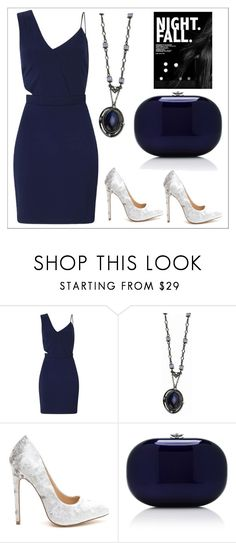 """Untitled #533"" by chanlee-luv ❤ liked on Polyvore featuring Miss Selfridge, 1928 and Jeffrey Levinson"
