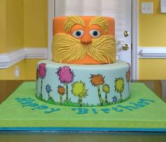 Horton hears a who cake:)