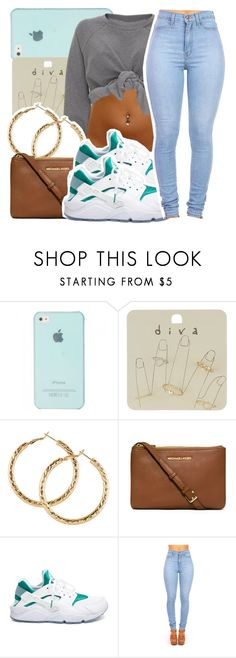 """"""""""" by missy143lol ❤ liked on Polyvore featuring Mode, Miss Selfridge, H&M, MICHAEL Michael Kors und NIKE"""