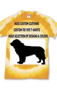 Custom Yellow Bullseye Tie-dye T-shirts, Silhouette Shirts, Vinyl T-Shirts, Dog, Hockey Player, Spots, Cat, Goldfish, Fish, Hammer Shirt by NAESCUSTOMCLOTHING on Etsy