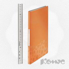 Папка 40 файлов Leitz BeBop 45650045 оранжевая - купить в интернет-магазине «Комус»