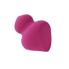 Miracle Sculpting Sponge - DEWY HIGHLIGHT + CONTOUR Designed to help create shadows or highlight your favorite facial features. Use damp for a dewy glow or dry for a full coverage finish. Ideal for powders, creams, and liquids. small side for precision highlighting, large side for controlled contouring.