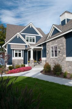 Increase your home's curb appeal with these eye-catching design ideas for your house's exterior. #homeexterior #exterior