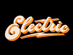 typography | electric