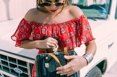 For_Love_And_Lemons-Raffia_Basket-Vintage-Cropped_Top-Midi_Skirt-Lace_Up_Sandals-Revolve_Clothing-Outfit-Collage_Vintage--39