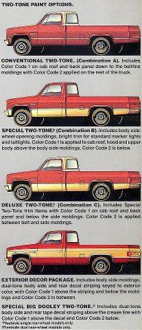 1987 C10 Paint Schemes