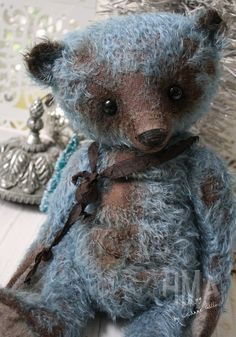 E-Pattern to make a big Old Joy bear or by theoldpincushion
