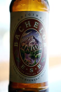 Bachelor Bitter from Bend, Oregon's Deschutes Brewery.  My all time favorite beer :)