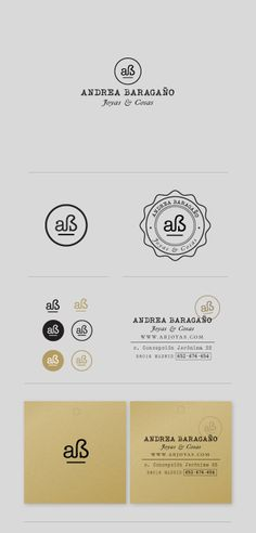 BRAND IDENTITY FOR A JEWELERY DESIGNER