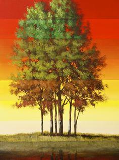 Surreal Timeline Tree Series – 4 Lesson Set – Acrylic Painting Lesson   Tim Gagnon Studio