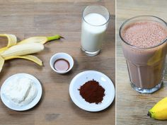 Machen Sie sich gesunde Protein-Shakes – Machen Sie selbst Protein-Shakes – – Keep up with the times. Protein Smoothies, Healthy Protein Shakes, Smoothie Drinks, Low Carb Shakes, Healthy Meals For Two, Easy Healthy Recipes, Lean Cuisine, Smoothies For Kids, Cookies For Kids