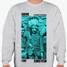 Shine Like Einstein [Sweater] – Stoned Dreams Apparel