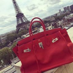 Hermes Red handbag collection – Just Trendy Girls