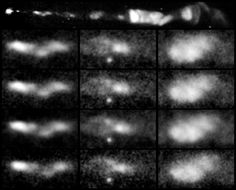 - * 13 Year Span Observance of M 87 * - At the center of this giant, elliptical galaxy is a massive black-hole powered jet of hot gas which extends 5,000 light-years. Image reveals changes in the stream discovered in 1918 by Heber Curtis -