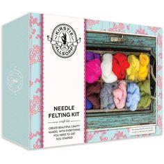 Kirstie Allsopp Needle Felting Kit | Hobbycraft