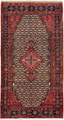 "SHIPS CANADA ONLY-Hand-knotted Persian 4'11"" x 9'6"" Koliai  Wool Rug"