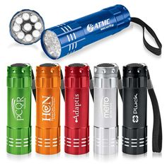 We provide the best and most affordable quality customized 9 LED Aluminum Flashlight, custom 9 LED Aluminum Flashlight with your logo at guaranteed low prices. URL: http://indent.seeit.co.nz/aluminum-flashlight-p-10316.html