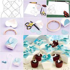 DIY Simple Cute Gift Box