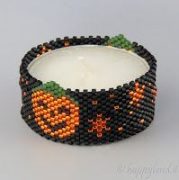 The joys of Happyland - patterns: Tealight cover