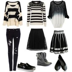 Vixx Voodoo Doll Inspired Outfit by mdevally on Polyvore featuring moda, Poem, Pull&Bear, Reiss and Rocio