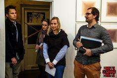 Poesie einer Ausstellung im ausstellungsraum EULENGASSE - Gast, Sophie Maltzahn, Daria Eva Stanco und Jannis Plastargias