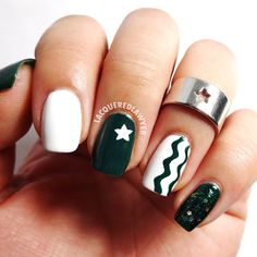 Lacquered Lawyer | Nail Art Blog: Starbucks Starpower
