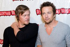 Norman Reedus & Sean Patrick Flanery <3 They don't make em like they used to