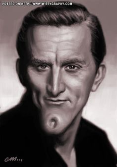 Kirk Douglas (by Em..._) |Pinned from PinTo for iPad|