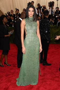 Kendall Jenner at the Met Gala 2015. Click on the image to see more looks.