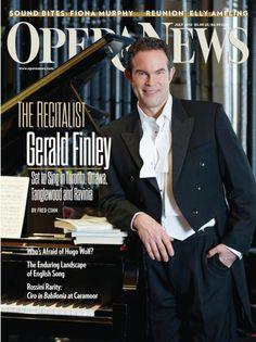 (July  2012) Opera News featuring Gerald Finley