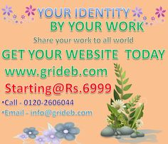 Great Offer  For business Owner because Website is identity of your work . Get A  beautiful Website At low cost.
